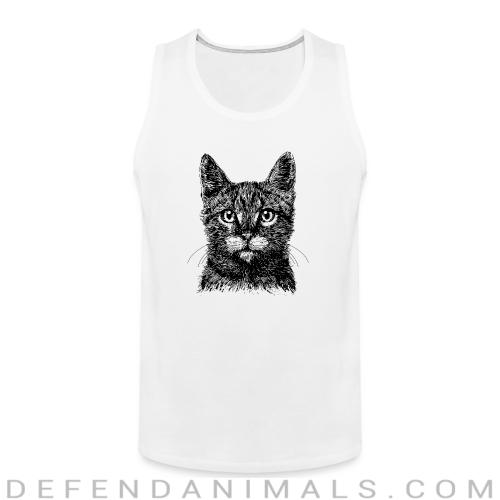 cat face  - Cats Lovers Tank top