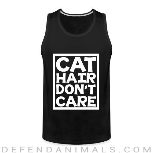 Cat hair don't care  - Cats Lovers Tank top