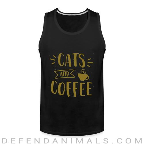 Cats and coffee - Cats Lovers Tank top