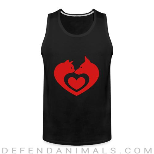 Cats and Dog  - Cats Lovers Tank top