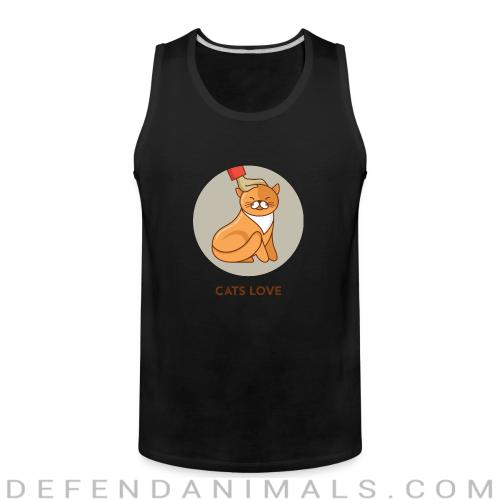 Cats love  - Cats Lovers Tank top