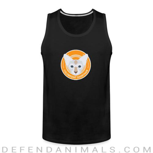 Colorpoint Shorthair Cat - Cat Breeds Tank top