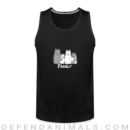Family  - Cats Lovers Tank top