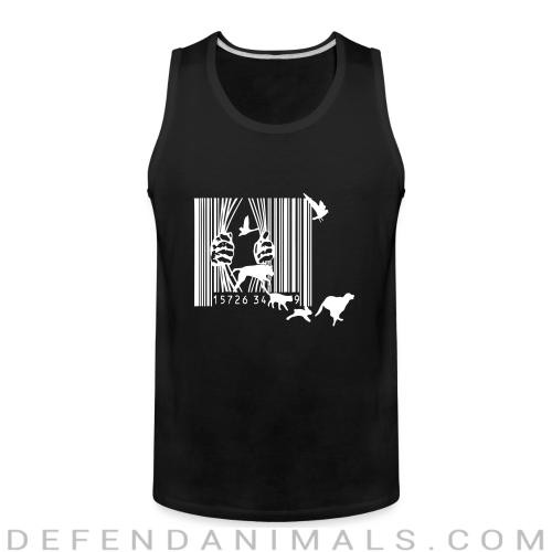 Free the animals liberation  - Animal Rights Activism Tank top