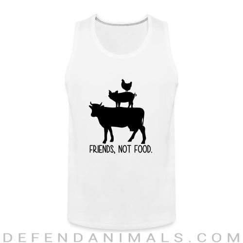 Friends, not food - Animal Rights Activism Tank top