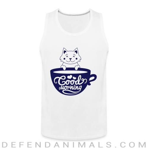 Good morning - Cats Lovers Tank top