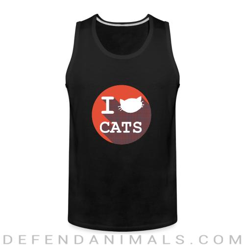 I Cats  - Cats Lovers Tank top