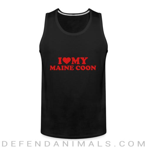 I love my maine coon - Cat Breeds Tank top