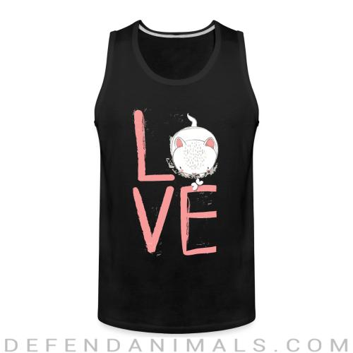 Love  - Cats Lovers Tank top