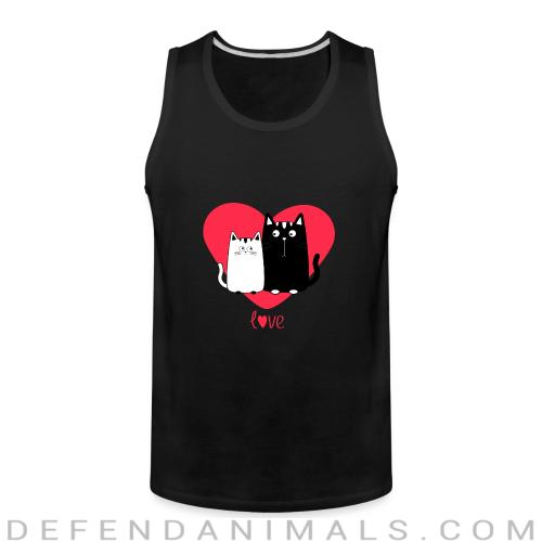 Love cats  - Cats Lovers Tank top