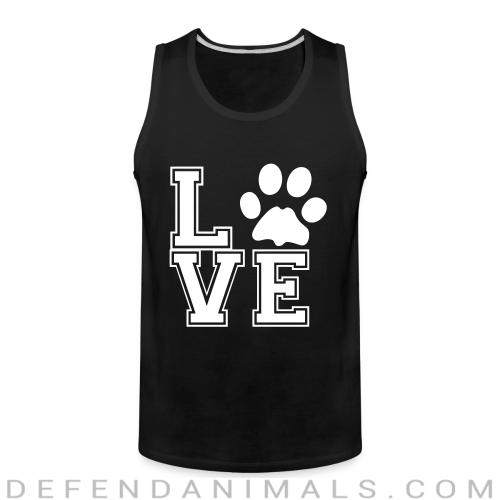 love paw - Dogs Lovers Tank top