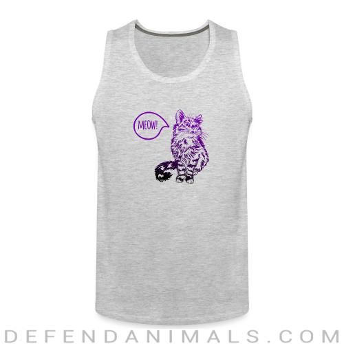 Meow - Cats Lovers Tank top