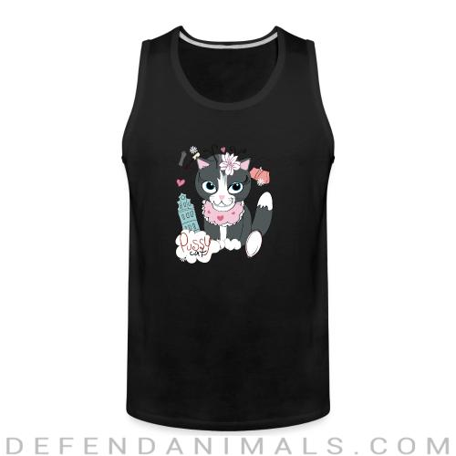 Pussy cat  - Cats Lovers Tank top