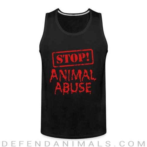 Stop animal abuse - Animal Rights Activism Tank top