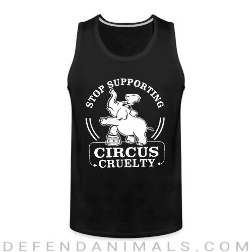 Tank top Stop supporting circus cruelty - Animal Rights Activism
