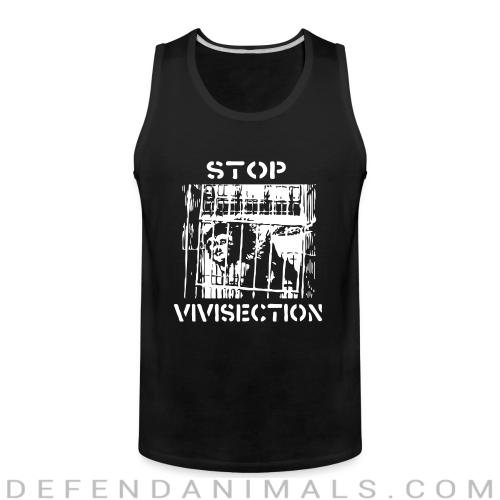 Stop vivisection - Animal Rights Activism Tank top