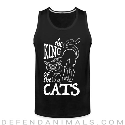 The king of the cats  - Cats Lovers Tank top