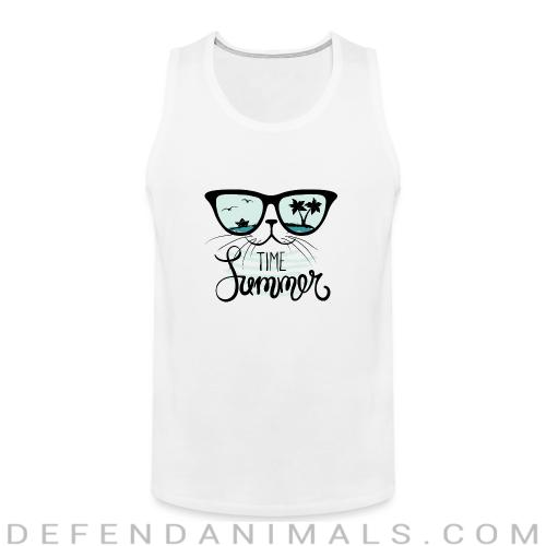 Time summer  - Cats Lovers Tank top