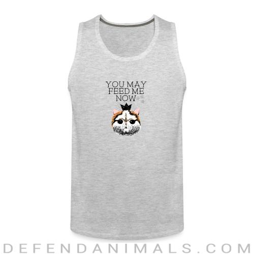 You may feed me now  - Cats Lovers Tank top
