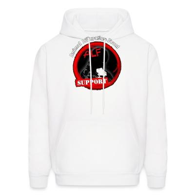 Hoodie ALF Animal Liberation Front support