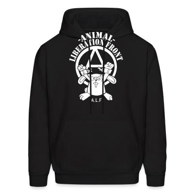 Hoodie Animal liberation front A.L.F.
