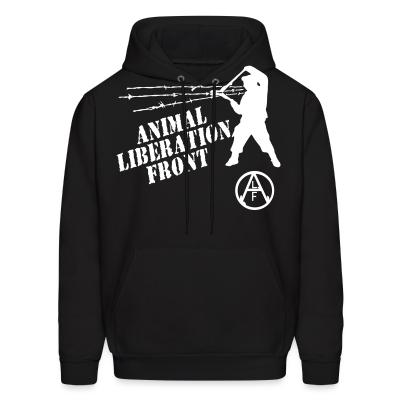 Hoodie Animal Liberation Front - ALF