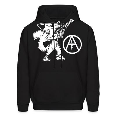 Hoodie Animal liberation front (ALF)