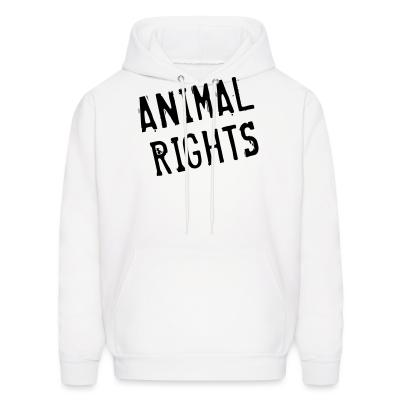 Hoodie Animal rights