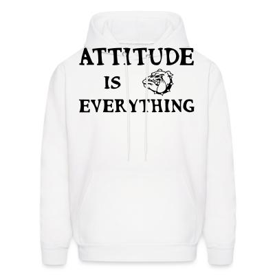 Hoodie attitude is everything