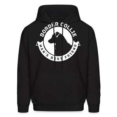 Hoodie Border Collie man's best friend