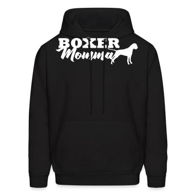 Hoodie boxer momma