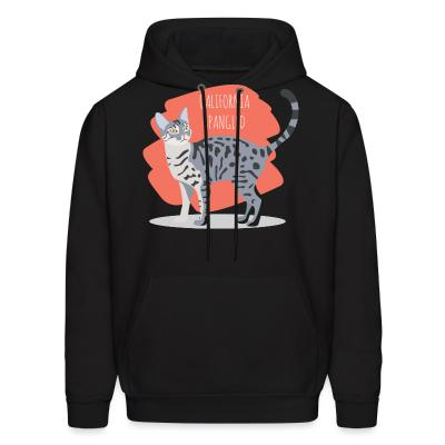 Hoodie California Spangled Cat