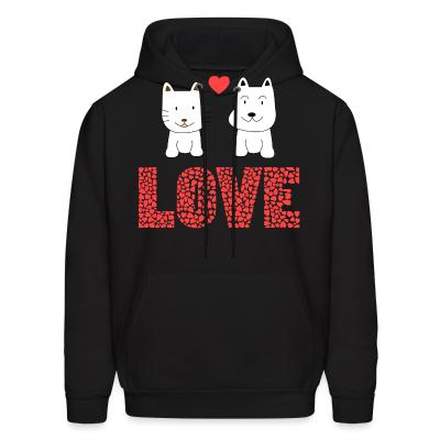Hoodie Cat and Dog