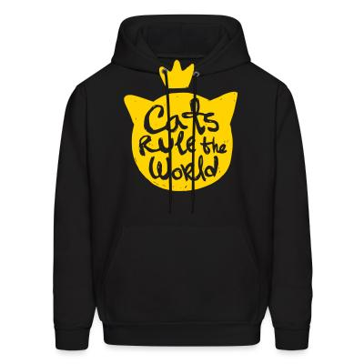 Hoodie Cats rule the world