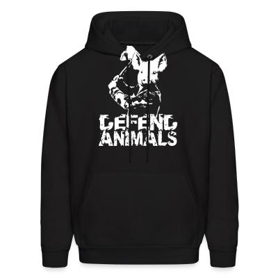 Hoodie Defend animals