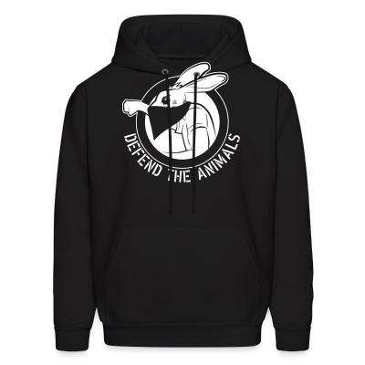 Hoodie Defend the animals