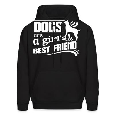 Hoodie Dogs are a girl's best friend