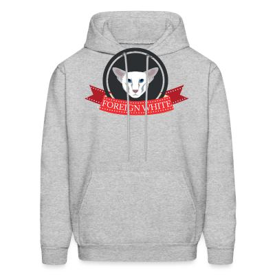 Hoodie Foreign white