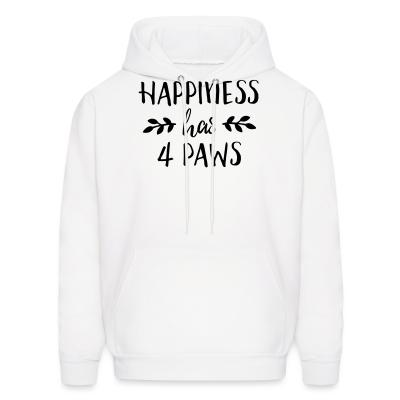 Hoodie happiness has 4 paws