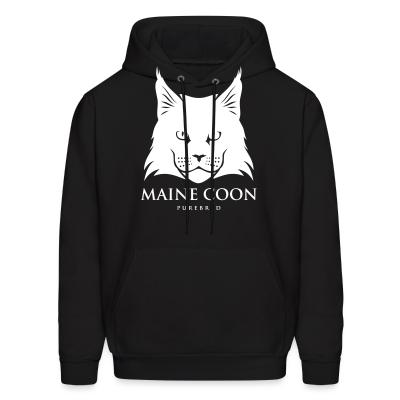 Hoodie Maine Coon Cat