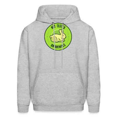 Hoodie Not tested on animals