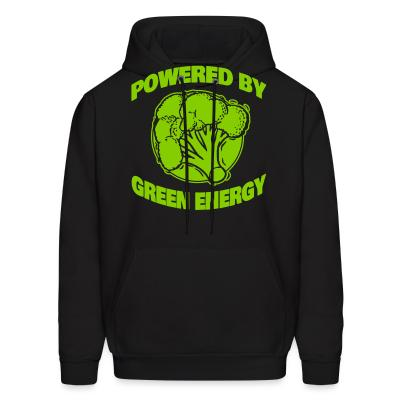 Hoodie Powered by green energy