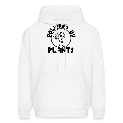 Hoodie Powered by plants