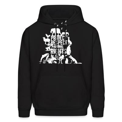 Hoodie Protect respect animal rights