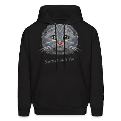 Hoodie Scottish Fold Cat