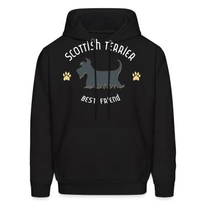 Hoodie Scottish terrier best friend