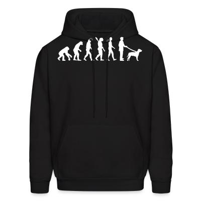 Hoodie Staffordshire Bull Terrier evolution
