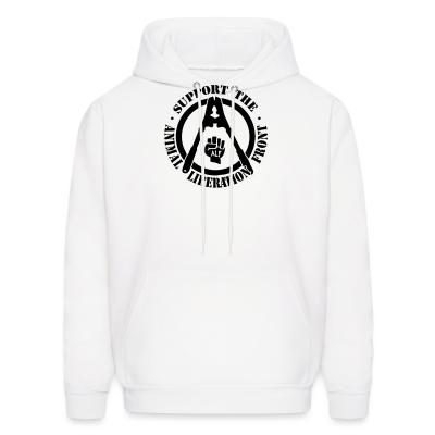 Hoodie Support the Animal Liberation Front (ALF)