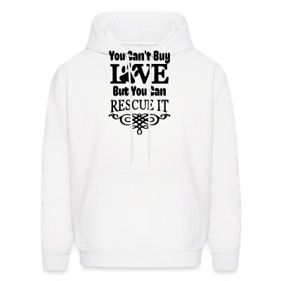 Hoodie you can't love but can rescue it