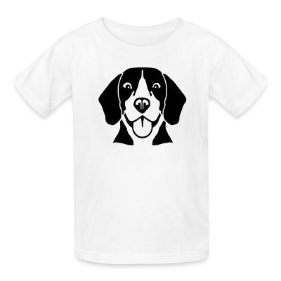 Kid tshirt Beagle Dog